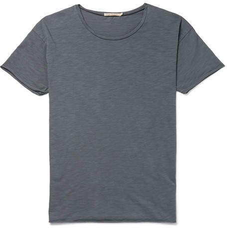 Nudie Jeans Roger Slub Cotton-Jersey T-Shirt