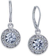Charter Club Silver-Tone Crystal and Pavé Disc Drop Earrings, Only at Macy's