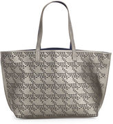Echo Laser-Cut Houndstooth Tote