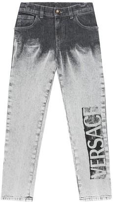Versace Kids Logo jeans