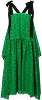 Fendi flared crochet dress