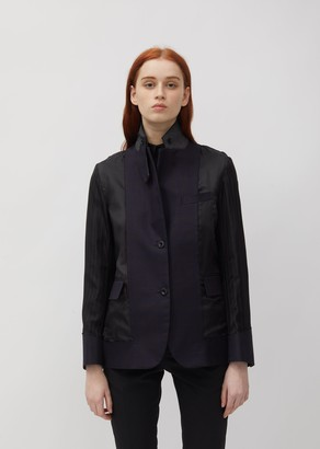 Sacai Glencheck Suiting Jacket