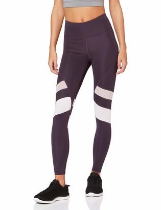 Aurique Amazon Brand Women's High Waisted 7/8 Running Leggings