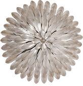 Crystorama Broche 4-Light Sconce, Silver