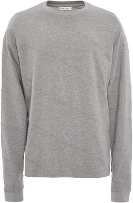 J.W.Anderson diagonal panelled T-shirt