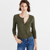 Madewell Sound Ribbed Henley Tee