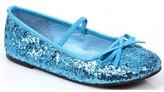 Morris Costumes Blue Sequin Girl's Ballet Flats