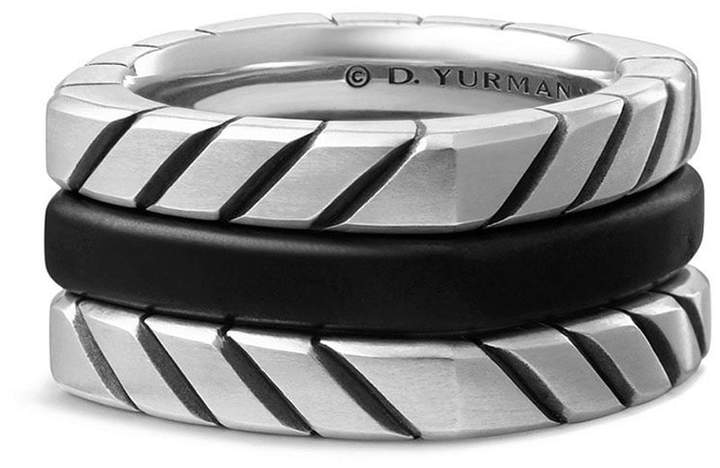 David Yurman Chevron Stack Ring