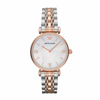 Emporio Armani Women's AR1683 Retro Two Tone Watch