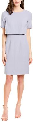 Donna Karan Scoop Neck Sheath Dress