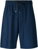 Bernardo Giusti - drawstring waist shorts - men - Silk/Linen/Flax - 46