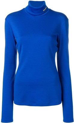 Calvin Klein roll neck knitted top