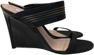 Diane von Furstenberg Black Patent leather Heels