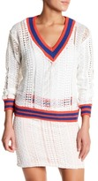 Endless Rose Chic Boulevard Knit Stripe Pullover