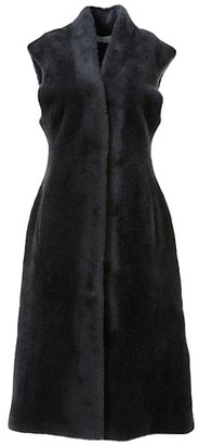LVIR Faux-Fur Long-Line Vest