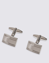 M&S Collection Textured Rectangle Cufflinks