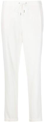 Fabiana Filippi Jersey Virgin Wool-Blend Trousers