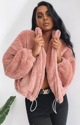 Beginning Boutique Echoes Super Soft Jacket Blush