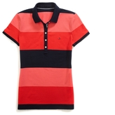 Tommy Hilfiger Heritage Fit Rugby Stripe Polo