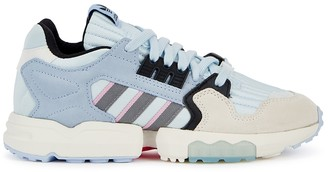 adidas ZX Torsion light blue panelled sneakers