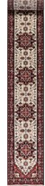 """Sultanabad No Hand-Knotted Runner 2'8"""" x 21'10"""" Wool Red Area Rug Bloomsbury Market"""