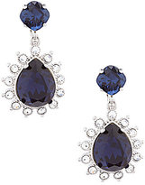 Carolee Clipped to Perfection Double-Drop Clip-On Statement Earrings