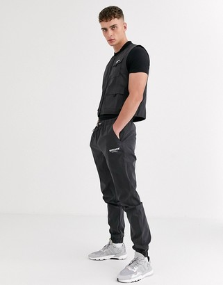 Sixth June reflective pant in black