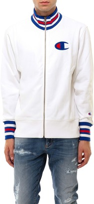 Champion C Logo Striped Trim Jacket