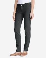 Eddie Bauer Women's Elysian Twill Slim Straight Jeans - Slightly Curvy