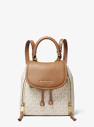 Michael Kors Viv Extra-Small Pebbled Leather Backpack