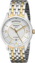 Tissot Men's T0384302203700 T-One Dial Two Tone Watch