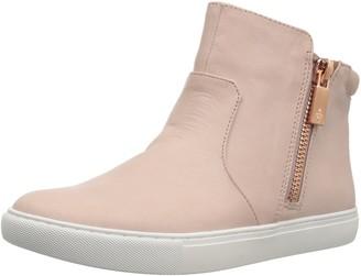 Kenneth Cole New York Women's Kiera Mid-Height Sneaker Dual Side Zippers
