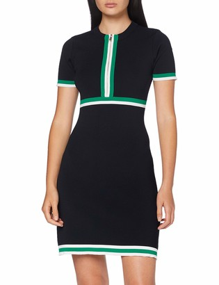 Morgan Women's 191-rmaya.n/Marine/vert Dress TXS