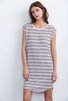 Hansa Stripe Tee Shirt Dress