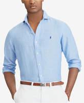 Polo Ralph Lauren Men's Big & Tall Classic Fit Linen Sport Shirt