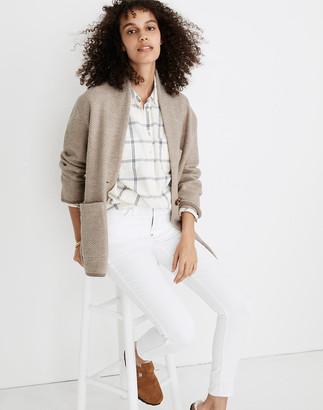 Madewell Herringbone Mattson Sweater Coat