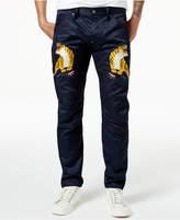 G Star Men's Muay Thai Embroidered Pants