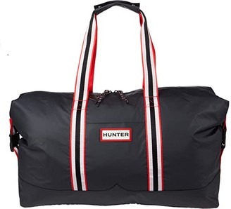 Hunter Lightweight Rubberized Holdall (Black) Backpack Bags