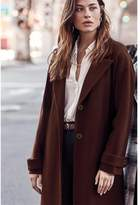 Dynamite The Plateau Coat - FINAL SALE Chicory Coffee Brown