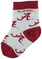 For Bare Feet Toddlers' Alabama Crimson Tide Socks