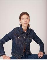 Rag & Bone Cuffless jean jacket