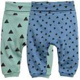 H&M 2-pack Leggings - Dusky green - Kids