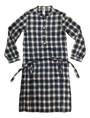 Margaret Howell Navy Cotton Dresses