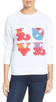 Rebecca Minkoff Women's Love Graphic Sweatshirt