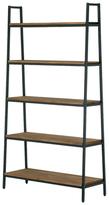 Five-Shelf Media Tower Etagere Bookcase