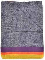 Etro Wool And Silk Scarf