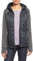 MICHAEL Michael Kors Petite Women's Mixed Media Jacket
