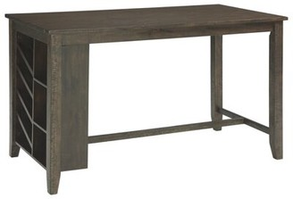 Gracie Oaks Chapdelaine Counter Height Pub Table