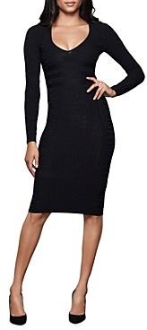 Good American Tonal Printed Body-Con Dress