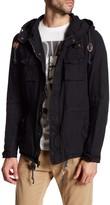 Rogue Hooded Linen Cargo Jacket